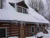 chata Beata v zimě