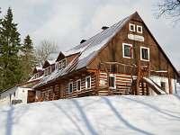 Chata v zimě 2015