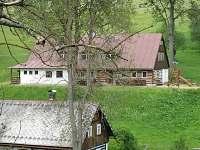 chata z dálky