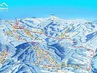 Lyžařské středisko Černá Hora - Pec pod Sněžkou - pronájem apartmánu
