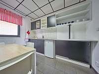 Apartmány 1 a 2 - sdílená kuchyňka - ubytování Trutnov