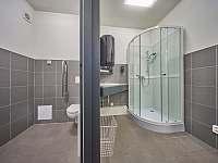 Koupelna a sociální zázemí - apartmán k pronajmutí Trutnov