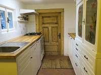 kuchyň - chalupa k pronajmutí Rudník - Javorník
