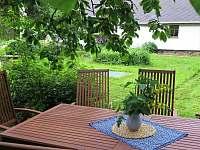 zahrada - chalupa k pronajmutí Rudník - Javorník