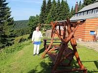 Naše kuchařská elita a houpačky - ubytování Horní Mísečky