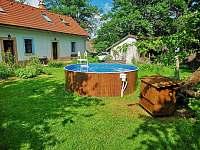 Bazén. - pronájem chalupy Bukovina u Pecky