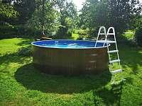 Bazén. - Bukovina u Pecky