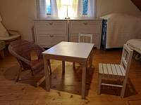 Stůl a židličky pro děti