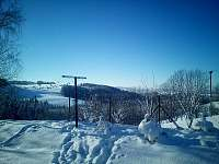 Pohled od chaty - Vysoké nad Jizerou - Helkovice
