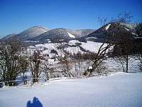 Okolní krajina v zimě - Bernartice