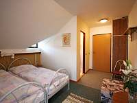 Apartmán 1 - ložnice 2 x stejná - pronájem Rokytnice nad Jizerou