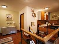Společný prostor apartmán 1 - ubytování Rokytnice nad Jizerou