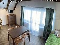 Barborka - hlavní obývací prostor - apartmán ubytování Horní Malá Úpa