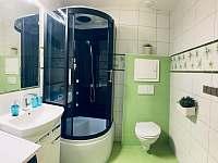 Koupelna - pronájem apartmánu Horní Malá Úpa