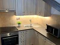 Kuchyňský kout - apartmán ubytování Horní Malá Úpa
