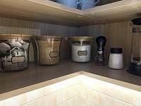 Vybavení kuchyně - apartmán k pronájmu Horní Malá Úpa