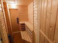 Sauna - pronájem apartmánu Rokytnice nad Jizerou - Rokytno