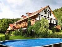 ubytování s bazéném v Krkonoších