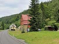 Okolí vily - vila ubytování Vítkovice