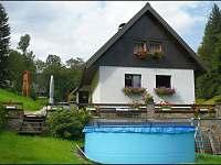 Chata s bazénem - ubytování Bolkov