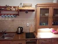4lůžkový apartmán-kuchyň - pronájem chalupy Hořejší Vrchlabí