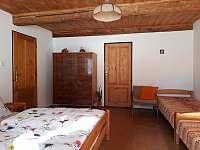 ložnice v přízemí - pronájem chalupy Přední Labská