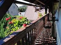 PENSION VĚRA - balkón - chalupa k pronájmu Rokytnice - Vilémov