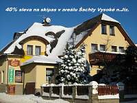 ubytování Skiareál Větrov v penzionu na horách - Vysoké nad Jizerou