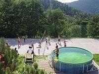 chata Orel bazén