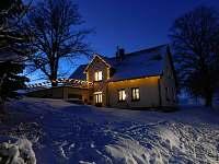 Chalupa k pronajmutí - zimní dovolená Víchová nad Jizerou