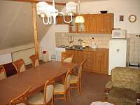 obytná kuchyn patro - Víchová nad Jizerou