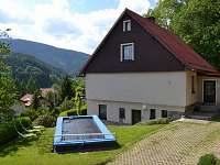 Bazén s vyhříváním pomocí solárních panelů a plachty