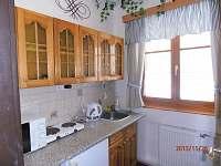 Apartmán- kuchyňka - chata ubytování Horní Malá Úpa