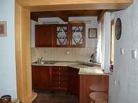 Kuchyň v prvním patře