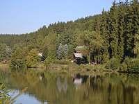 Pohled z druhé strany rybníku