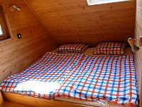 malá ložnice - chalupa k pronajmutí Studenec