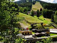 Ski areál Herlíkovice v létě - apartmán k pronajmutí Vrchlabí - Herlíkovice