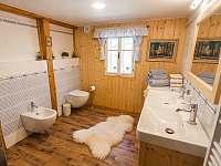 Koupelna č.2 - chalupa k pronájmu Dolní Dvůr
