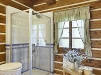 koupelna - chalupa k pronajmutí Horní Lysečiny