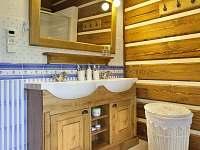 spodní koupelna - pronájem chalupy Horní Lysečiny
