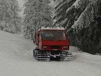 zimní vozítko