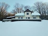 Chalupa Brouk v zimě
