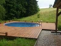 bazén - vila ubytování Javorník