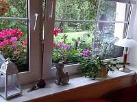 Obývací pokoj,chodba - pronájem apartmánu Benecko - Štěpanická Lhota