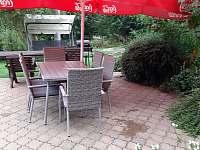 Zahrada - apartmán k pronajmutí Benecko - Štěpanická Lhota