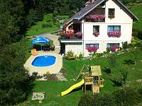 Zahrada - apartmán k pronájmu Benecko - Štěpanická Lhota