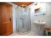 Čistá koupelna se sprchou