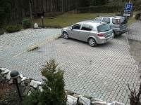 parkování - rekreační dům k pronájmu Janské Lázně