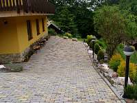 terasa - rekreační dům ubytování Janské Lázně
