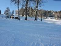 Okolí v zimě - chalupa k pronájmu Bozkov